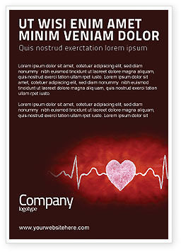 Medical: Heartbeat Ad Template #04504