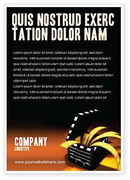 Careers/Industry: Plantilla de publicidad - movie clapper #04505
