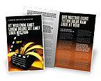 Careers/Industry: Movie Clapper Brochure Template #04505
