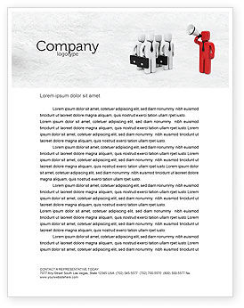 Commander Letterhead Template, 04506, Consulting — PoweredTemplate.com