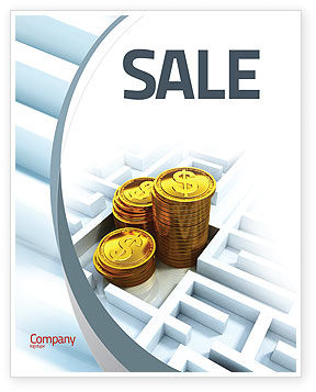 Making Money Sale Poster Template, 04511, Financial/Accounting — PoweredTemplate.com