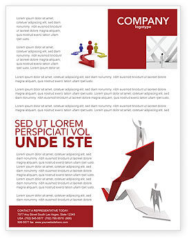 Enhancing Careers Flyer Template, 04512, Consulting — PoweredTemplate.com
