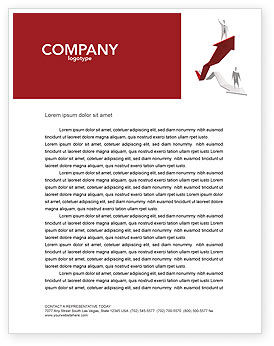 Enhancing Careers Letterhead Template, 04512, Consulting — PoweredTemplate.com