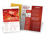 Business: Risk Block Brochure Template #04516