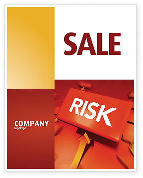 Risk Block Sale Poster Template, 04516, Business — PoweredTemplate.com