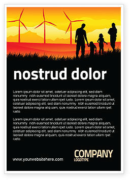 Nature & Environment: Plantilla de publicidad - california #04519