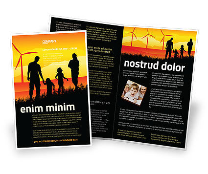 California Brochure Template