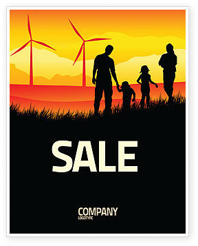 Nature & Environment: California Sale Poster Template #04519