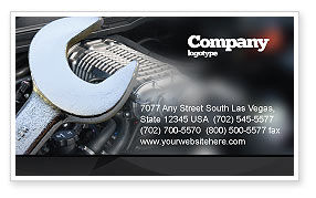 Car Repair Business Card Template