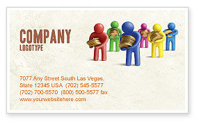 Loans Business Card Template
