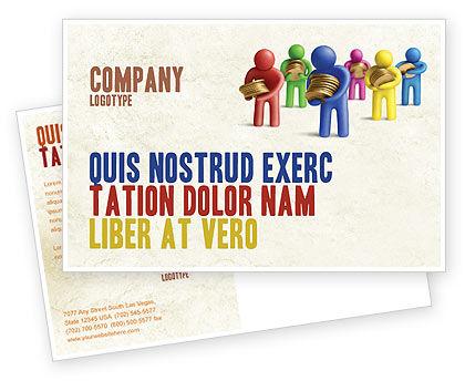 Loans Postcard Template, 04524, Financial/Accounting — PoweredTemplate.com