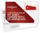 Careers/Industry: Career Building Postcard Template #04528