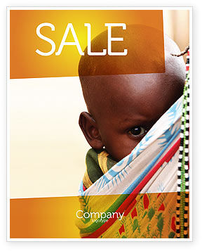 People: Afrikaanse Baby Poster Template #04531