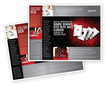 Aces Brochure Template, 04536, Careers/Industry — PoweredTemplate.com