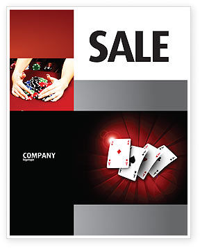 Careers/Industry: Aces Poster Template #04536
