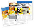 Careers/Industry: Pop Brochure Template #04542