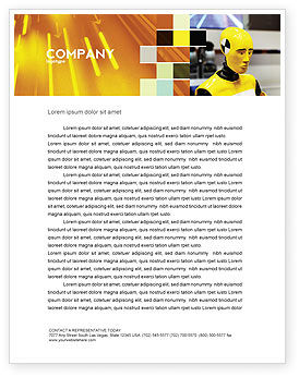 Careers/Industry: Dummy Letterhead Template #04542