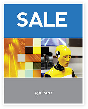 Dummy Sale Poster Template, 04542, Careers/Industry — PoweredTemplate.com