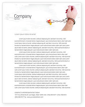 Medical: Pharmaceutical Dependency Letterhead Template #04546