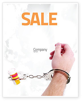 Medical: Pharmaceutical Dependency Sale Poster Template #04546