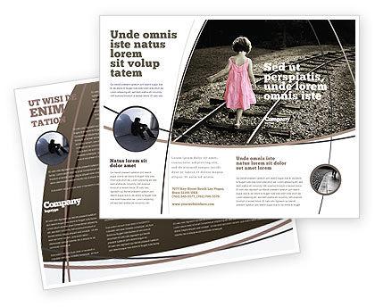 Religious/Spiritual: Modelo de Brochura - suicida #04551