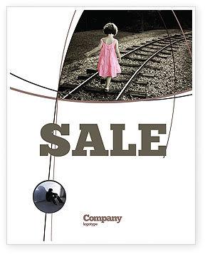 Suicidal Sale Poster Template, 04551, Religious/Spiritual — PoweredTemplate.com