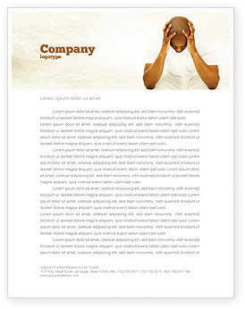 Abstract/Textures: Thoughtful Mind Letterhead Template #04554
