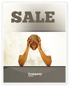 Thoughtful Mind Sale Poster Template, 04554, Abstract/Textures — PoweredTemplate.com