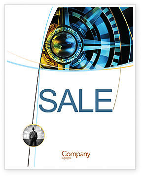 Course Sale Poster Template, 04557, Consulting — PoweredTemplate.com