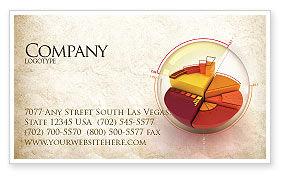 3D: 3D Pie Chart Business Card Template #04559