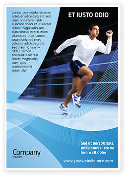 Endeavour Ad Template, 04561, Sports — PoweredTemplate.com