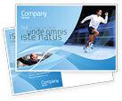 Sports: Endeavour Postcard Template #04561