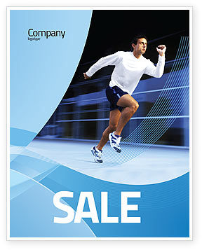 Endeavour Sale Poster Template, 04561, Sports — PoweredTemplate.com