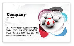 Originality Business Card Template, 04570, Sports — PoweredTemplate.com