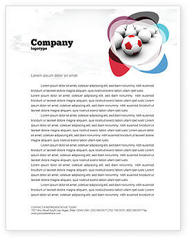 Sports: Originality Letterhead Template #04570