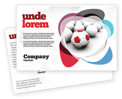 Sports: Originality Postcard Template #04570