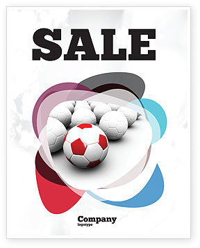 Originality Sale Poster Template, 04570, Sports — PoweredTemplate.com