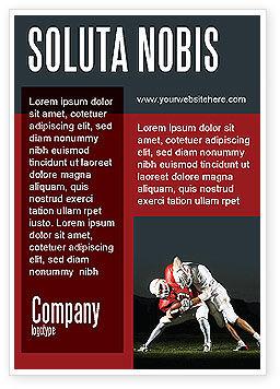 Sports: American Football New Orleans Saints Advertentie Template #04572