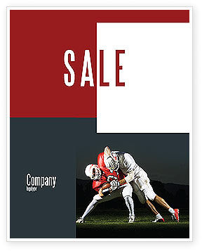 American Football New Orleans Saints Sale Poster Template, 04572, Sports — PoweredTemplate.com