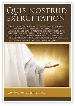 Religious/Spiritual: St Family Religion Ad Template #04579