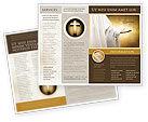 Religious/Spiritual: St Family Religion Brochure Template #04579