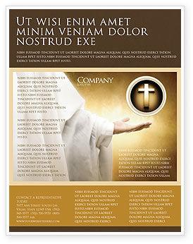 Religious/Spiritual: Modelo de Folheto - religião da família st #04579