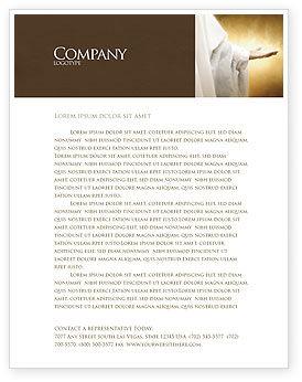 St Family Religion Letterhead Template, 04579, Religious/Spiritual — PoweredTemplate.com