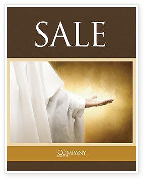 St Family Religion Sale Poster Template, 04579, Religious/Spiritual — PoweredTemplate.com
