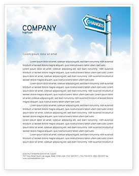 Changes Letterhead Template