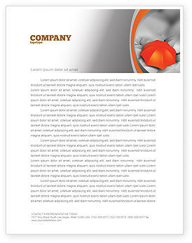 Business Concepts: Distinguished Letterhead Template #04584