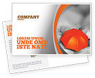 Business Concepts: Distinguished Postcard Template #04584