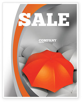 Distinguished Sale Poster Template