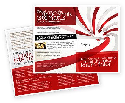 Vortex Brochure Template, 04585, Consulting — PoweredTemplate.com