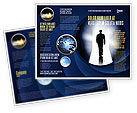 Careers/Industry: Road To Exit Brochure Template #04586